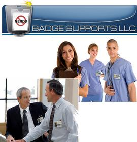Staff wearing Badge Supports