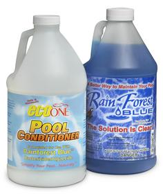 Sick of the red eye, itching and<br> rashes from chlorine in your pool?<br> Visit www.rainforest-blue.com --<br> $139.80 for a FULL SEASON kit.