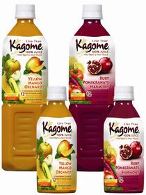 Beets, spinach and asparagus never tasted as good as they <br> do in Kagome's latest 100-percent (half fruit, half vegetable) <br> juice creations. Kagome juices can be found in natural food <br> stores nationwide or have Kagome shipped to your home by <br> ordering them online at http://www.kagome.us.