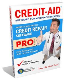 Credit-Aid Credit Repair<br> Software for Mortgage Brokers