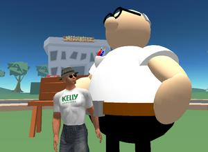 Kelly Services in Second Life
