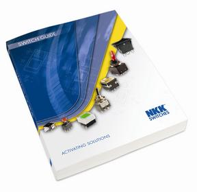 NKK Switches electromechanical Switch Guide.<br> The 13th edition of the switch catalog features<br> a number of new product options and<br> easy-to-use organizational structure for<br> NKK's more than 90 switch families.