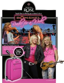 """Tequila Rose and Bomshel, a County singing <br>duo, are giving fans and chance to join their <br>2007 tour and become """"Roadies."""""""