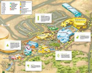 Map of Springs Preserve