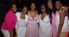 Pictured from left to right DawnMarie Goins, Mirlande Tse, Nicole Haney, Lisa Bland, Faye Yerlady and Siela Bynoe