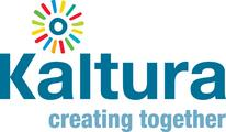 "Kaltura ""creating together"" logo"