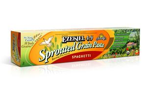 Ezekiel 4:9 Sprouted Grain Pasta has more protein, fiber and less carbohydrates compared to other whole grain or organic pastas.