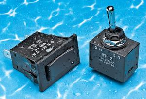 NKK Switches expands its product offerings with the WT and WR series environmentally sealed toggle and rocker switches.