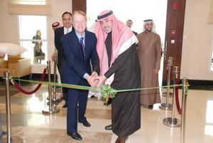 John Chambers, Cisco chairman and CEO, participated in the inauguration of the new SAGIA headquarters in Riyadh with His Excellency, Amr Al Dabbagh, governor of the Saudi Arabian General Investment Authority.