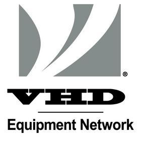 New VHD Equipment Network logo.