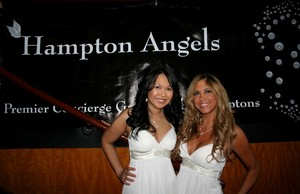 Pictured from left to right are Mani Malee and Samantha Cole