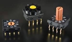 NKK Switches' new FR series of 10mm Ultra-Thin DIP Rotary switches incorporates the best characteristics of NKK's rotary devices and provides unprecedented quality and reliability.