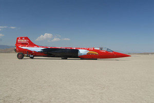 North American Eagle supersonic land speed challenger