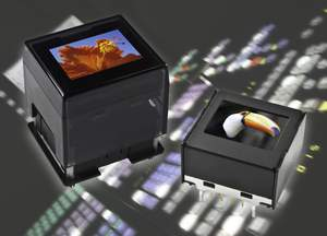 NKK Switches' OLED SmartSwitch and SmartDisplay are programmable pushbutton switches and displays that feature a programmable and changeable OLED module with 65,536 colors in 16 bit mode, and 256 colors in 8 bit mode. Both devices are capable of displaying full-motion video.