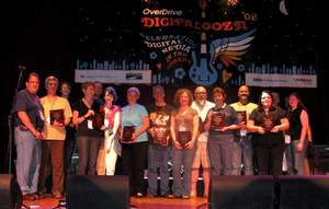 Digital Pioneer Awards, also known, as the 'Digies,' were awarded to 13 libraries/consortia on stage at Cleveland's House of Blues.