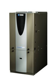 York Affinity High-Efficiency Modulating Gas Furnace from Johnson Controls.