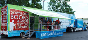 The Digital Bookmobile provides an engaging download experience for readers of all ages.
