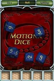 MotionX Dice