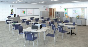 The HON Company's new SmartLink(TM) furniture system connects the teacher, the students and the environment together in a uniquely synergistic manner designed to foster an interactive learning process.