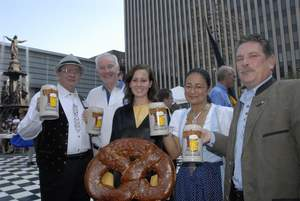 Celebrate German culture and cuisine at America's Oktoberfest in Cincinnati from September 20-21. For more information, visit www.cincinnatiusa.com.