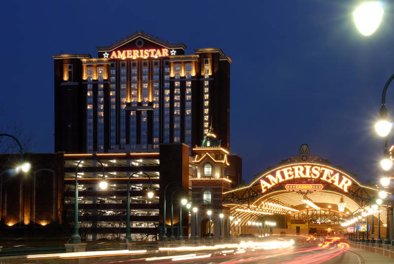 Guests at Ameristar Casino Hotel Spa in St. Charles, Mo., may now buy in for