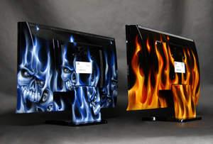 Custom Painted iZ3D 22-inch Widescreen 3D Monitor