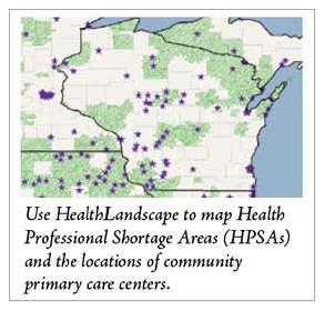 HealthLandscape Mapping Capabilities