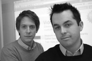 Wistia co-founders CTO Brendan Schwartz & CEO Chris Savage