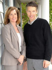 Sharon Faccinto & Chris DeNike, McGuire Real Estate