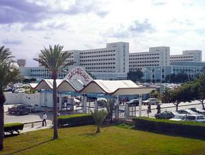 The state-of-the-art Tripoli Medical Center, Tripoli, Libya