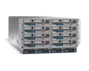 Cisco Unified Computing System with 8 UCS B-Series Blades