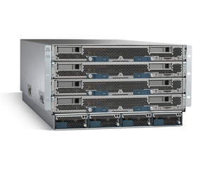Cisco Unified Computing System with 4 UCS B-Series Blades