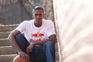 Boston Celtics Point Guard, Rajon Rondo signs with Red Bull.  The first NBA player to sign with the leading energy drink.