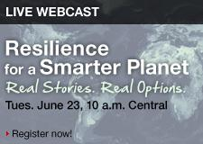 Vision Solutions, a leading high availability and disaster recovery solutions provider in IBM's  Power Systems markets (NYSE: IBM), will host a complimentary webcast Tuesday, June 23 at 10 a.m. (CDT) entitled Resilience for a Smarter Infrastructure: Real Stories. Real Options.