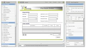 PerfectForms -- increased productivity and more efficient workflow processes.