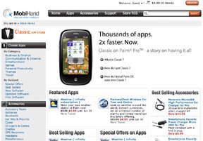 MobiHand Classic App Store