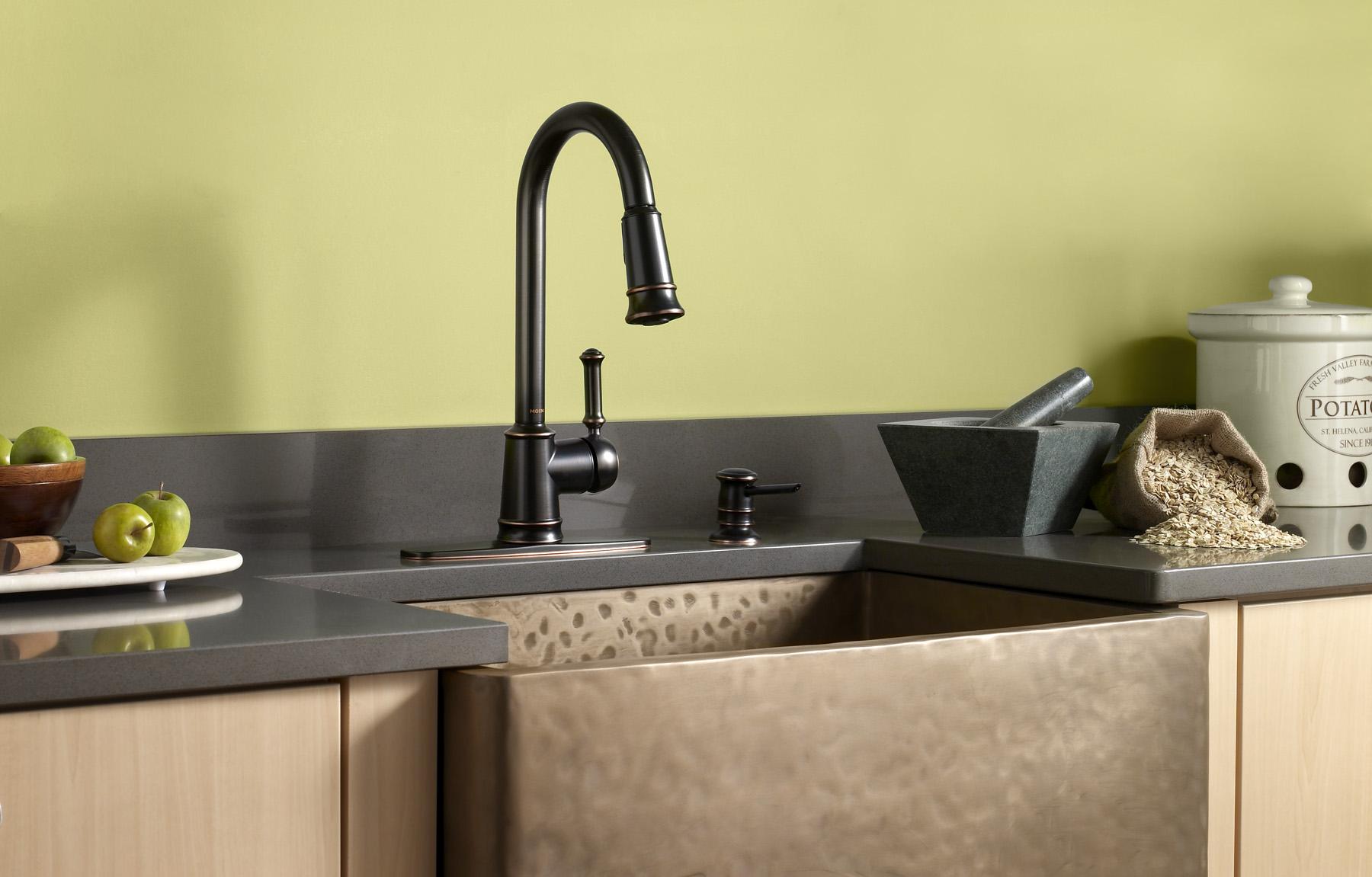 Remove moen kitchen faucet 7400 bearing cross