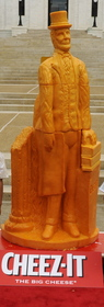 The Cheez-It Big Cheese Carving, 2009