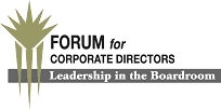Forum for Corporate Directors