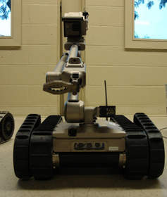 The combined Navigator and SEER payload enables more advanced autonomous behaviors demanded by the warfighter including building clearance and retro-traverse. The retrofit package is backwards compatible for up to 3,000 PackBots currently deployed in-theatre and is in the hands of warfighters in Iraq for the purposes of testing.
