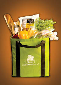 Westborn Market recycled shopping totes