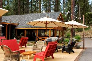 Evergreen Lodge sundeck