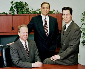 The Zimmer Brothers (L to R) John, Mike and Tom, recently transitioned to NEXT Financial Group, Inc.
