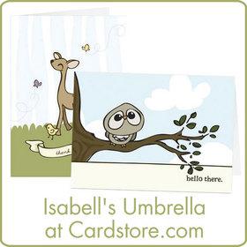 Isabell's Umbrella at Cardstore.com