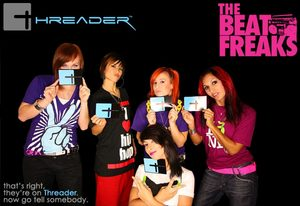 Announcing The Beat Freaks on Threader
