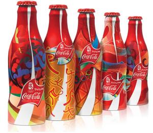 Coca-Cola Beijing Olympic Games Packaging - SILVER PENTAWARD - Design:  Anthem Worldwide (Chicago)