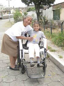 Jessica, free wheelchairs, poor children, Children International, Free Wheelchair Mission