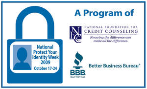 National Protect Your Identity Week will take place from October 17-24, 2009