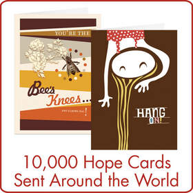 10,000 Hope Cards Sent Around The World