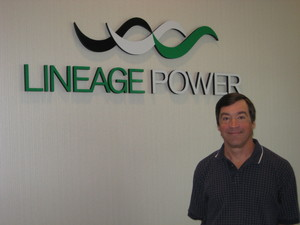 Allen Rozman, Lineage Power's new director of product management for its board mounted power (BMP) division.